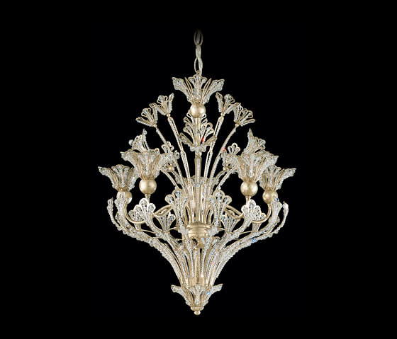 Rivendell Pendant by Schonbek   Suspended lights