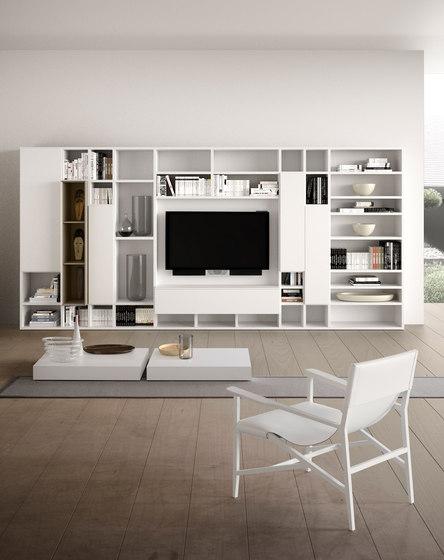 Spazioteca | SP014 by Pianca | Wall storage systems