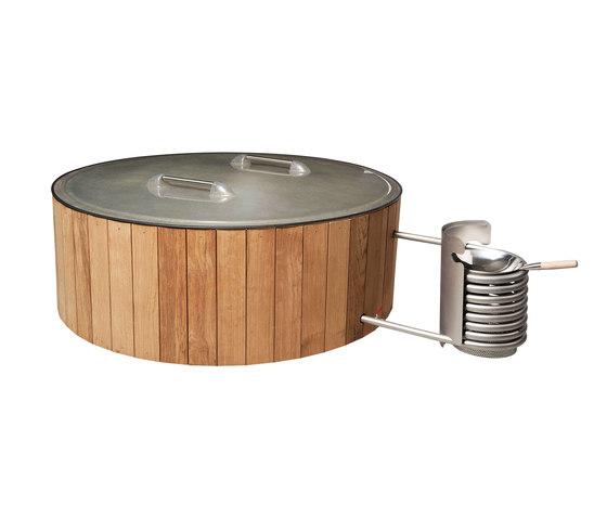 Dutchtub Wood by Weltevree   Outdoor bathtubs