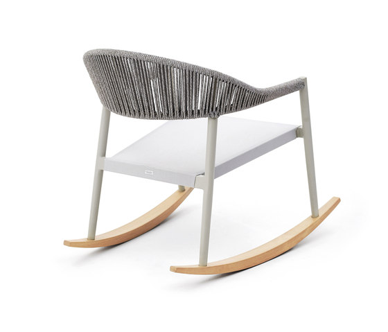 Clever rocking armchair von Varaschin | Sessel