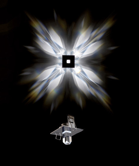 Crystal StarLED by Schonbek | Recessed wall lights