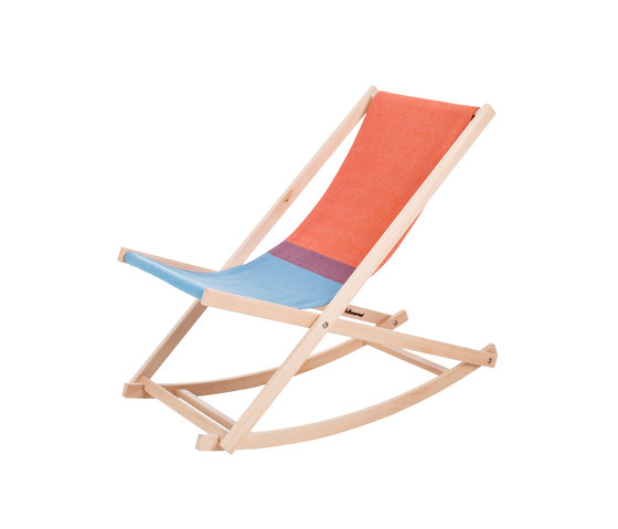 Beachrocker red/blue by Weltevree | Sun loungers