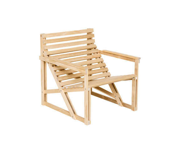 Patio Easy Chair Naked by Weltevree | Garden chairs