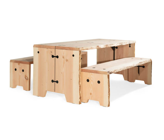Forestry Table 6p by Weltevree   Dining tables