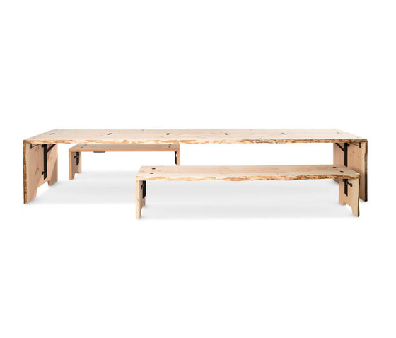 Forestry Table 12p by Weltevree | Dining tables