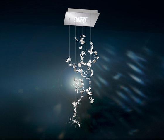 Crystalon LED Pendant di Schonbek   Lampade sospensione
