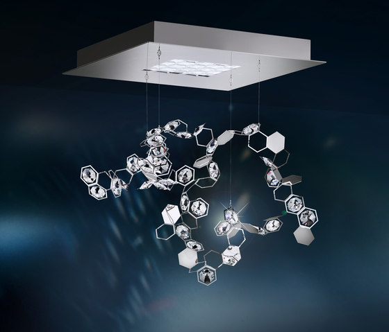 Crystalon LED Pendant di Schonbek | Lampade sospensione