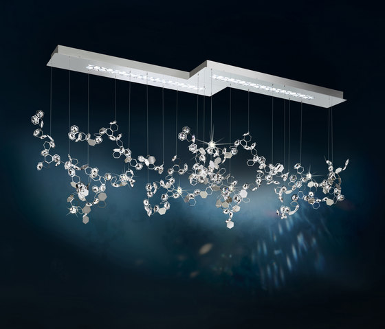 Crystalon LED Pendant by Schonbek | Suspended lights