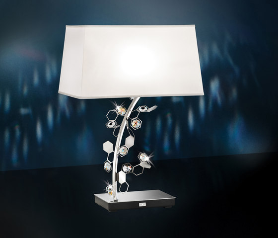 Crystalon Table Lamp by Schonbek | Table lights