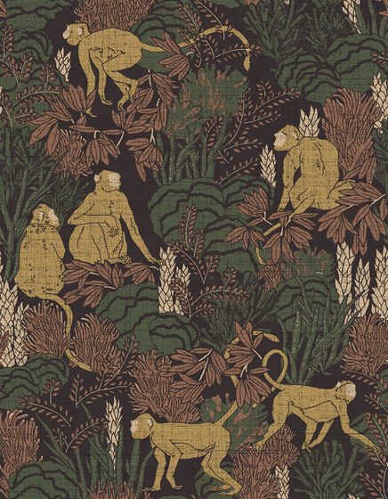 Curiosa Langur by Arte   Wall coverings / wallpapers
