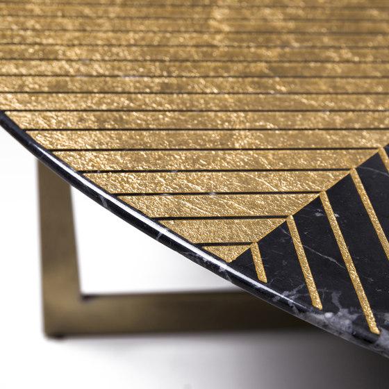 Gold Radius von Alex Mint | Couchtische