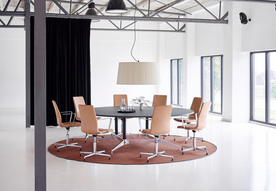 DO1100 Round Conference Table di Holmris B8 | Tavoli contract