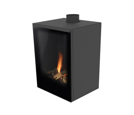 Versal Freestanding | Versal 400 by Planika | Closed fireplaces