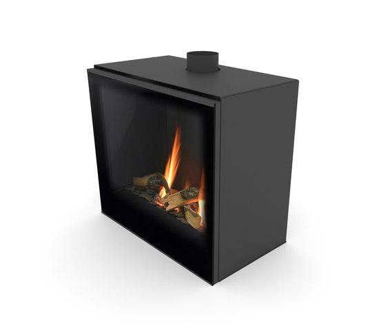 Versal Freestanding | Versal 600 by Planika | Closed fireplaces