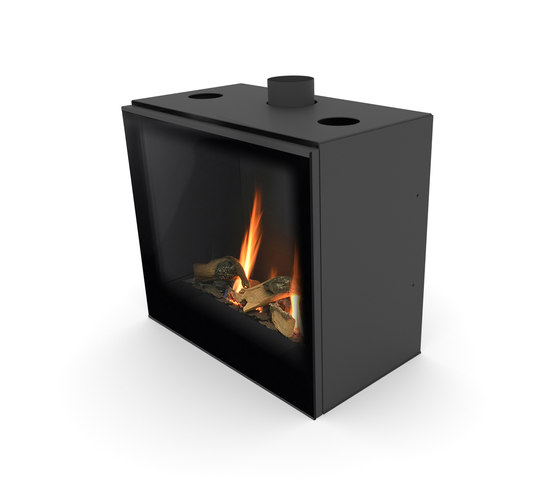 Versal Insert | Versal 600 by Planika | Closed fireplaces