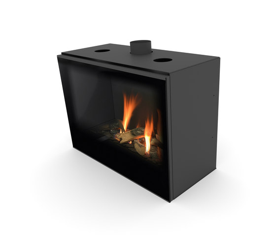 Versal Insert | Versal 750 by Planika | Closed fireplaces