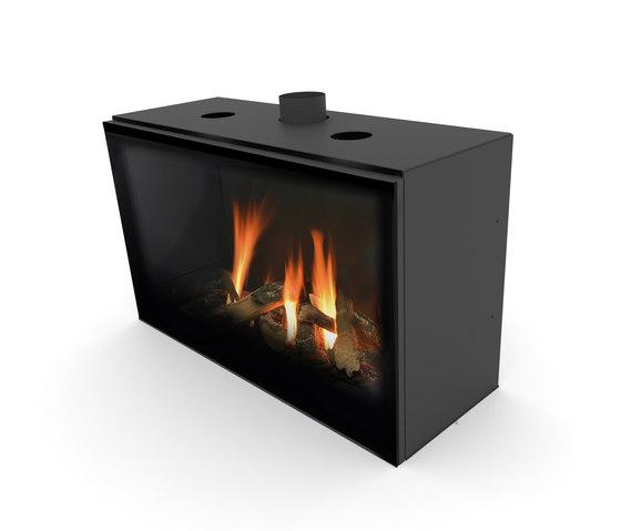 Versal Insert | Versal 900 by Planika | Closed fireplaces