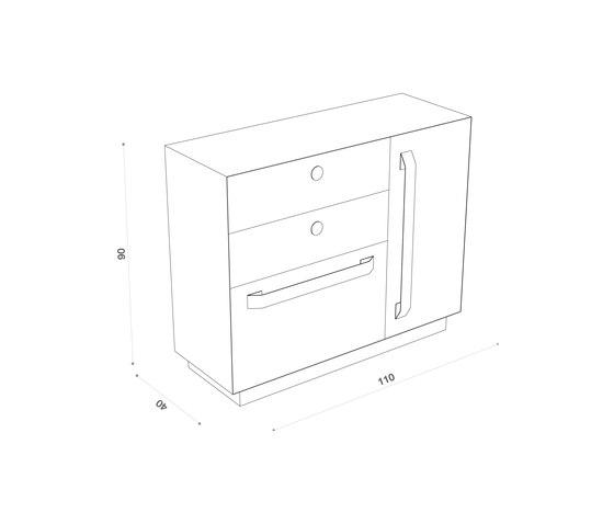 Abisso Cabinet XL de Atelier12   Aparadores