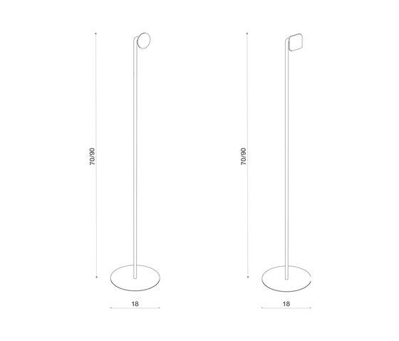 Abisso Freestanding spike towel holder de Atelier12 | Estanterías toallas