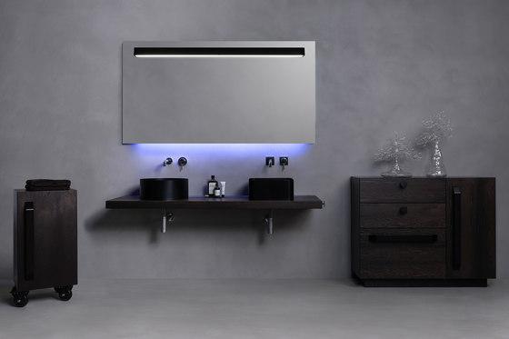 Abisso Countertop low profile washbasin de Atelier12 | Lavabos