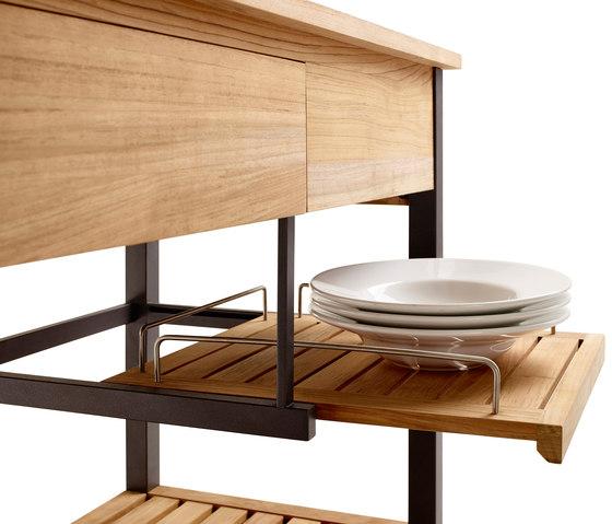 Carrello da cucina Butler di solpuri | Cucine da esterno