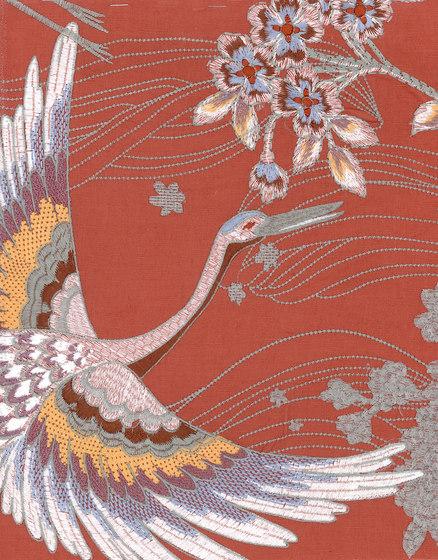 Takara Crane di Arte   Carta parati / tappezzeria