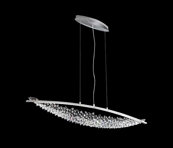 Amaca LED Pendant by Schonbek | Suspended lights