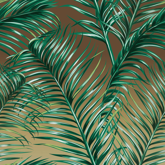 Luminous Palms | LP1.01 SG by YO2 | Wall coverings / wallpapers