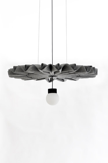 BuzziPleat LED by BuzziSpace | Suspended lights