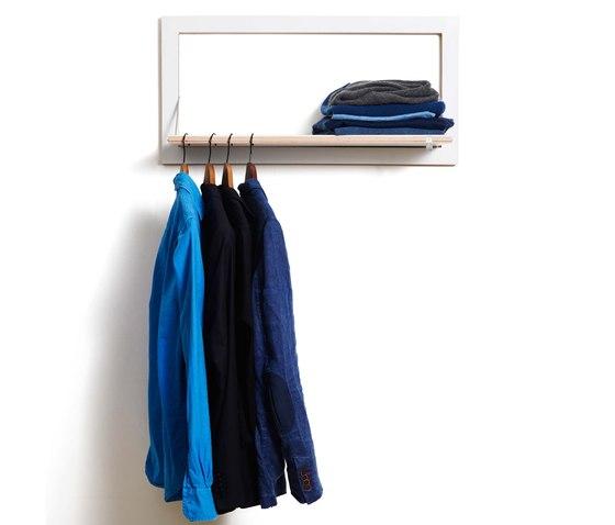 Fläpps Clothes Rail Hangrail   White by Ambivalenz   Hat racks