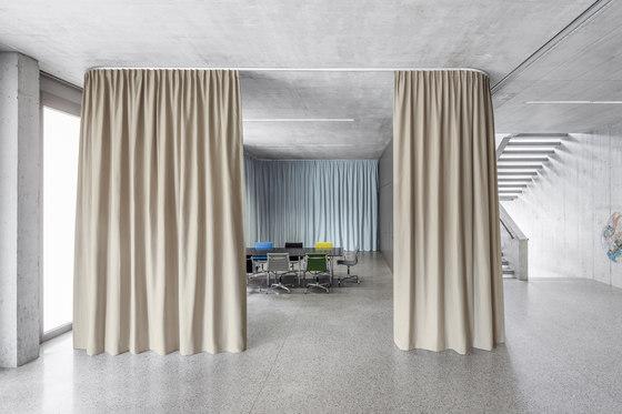 Acoustic Divider Vario by Création Baumann | Drapery fabrics