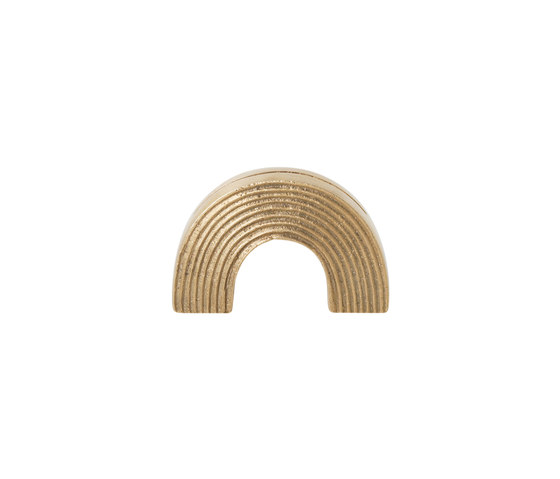 Card Stand - Arch - Brass by ferm LIVING | Picture frames