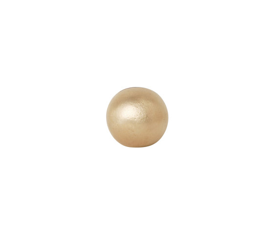 Card Stand - Sphere - Brass by ferm LIVING | Picture frames