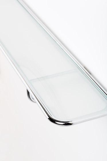 Borderline shelf by Svedholm Design   Bath shelves