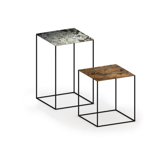 Slim Irony Art Low Tables by ZEUS | Side tables