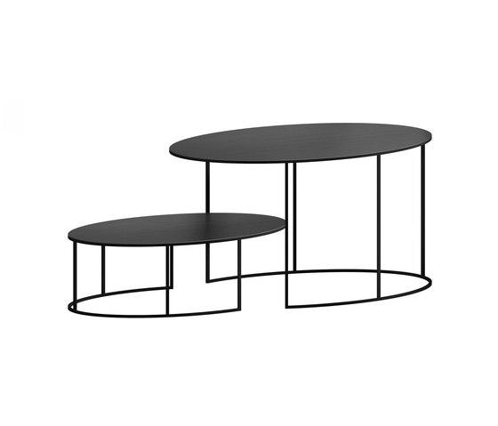 Slim Irony Oval de ZEUS | Tables basses