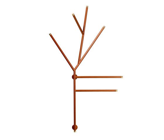 Twig hanger di Svedholm Design | Portasciugamani