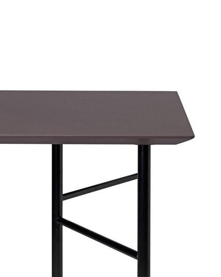 Mingle Table Top 210 cm - Lino - Taupe by ferm LIVING | Materials