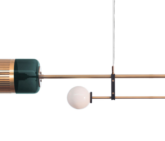 Lizak Pendant Light di Bert Frank   Lampade sospensione