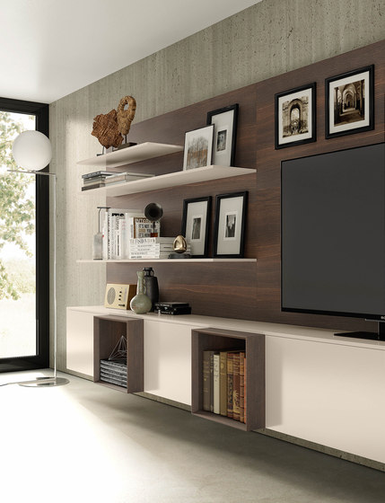 Spazio by Pianca | Wall storage systems