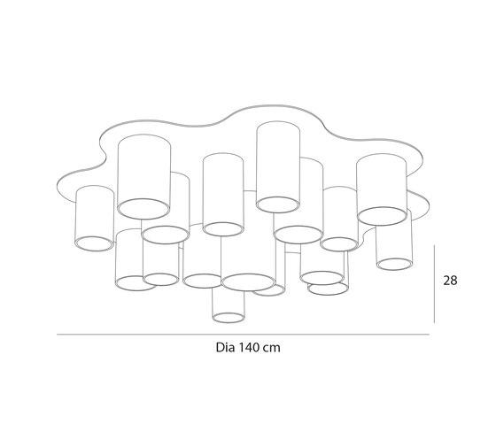 Carillon R17 de Passion 4 Wood | Lámparas de techo