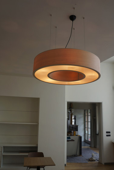 Donut-Ring L by Passion 4 Wood | Suspended lights