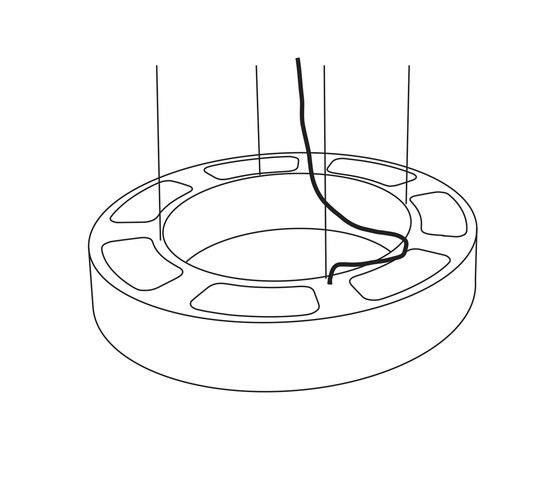 Donut-Ring XL de Passion 4 Wood | Lámparas de suspensión