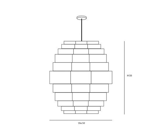 Glow S de Passion 4 Wood | Lámparas de suspensión