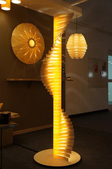 Helix Custom de Passion 4 Wood   Lámparas de suspensión