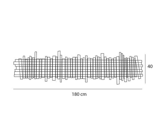 Wave wall de Passion 4 Wood | Lámparas de pared