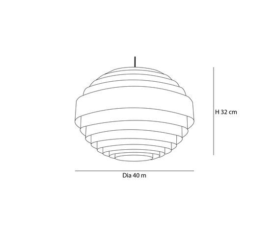 Sphere S de Passion 4 Wood   Lámparas de suspensión