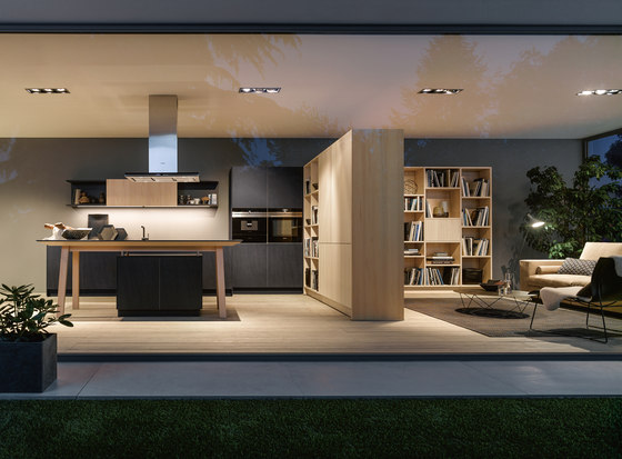 NX 950 Ceramic graphite by next125 | Fitted kitchens