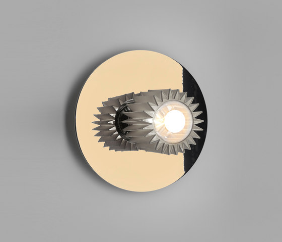 IN THE SUN | 270 wall gold/silver by DCW éditions | Wall lights