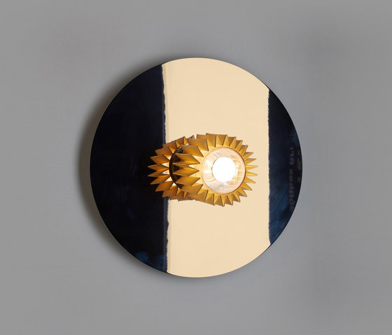 IN THE SUN | 380 wall gold/gold by DCW éditions | Wall lights